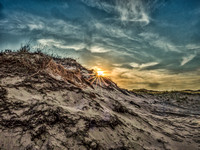 Ludington Dune Sunset